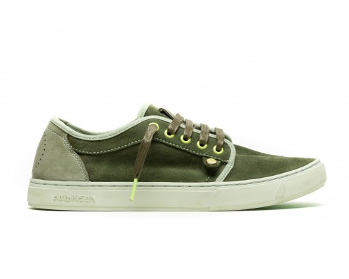 HEISEI SUEDE - ALGUE/LIME