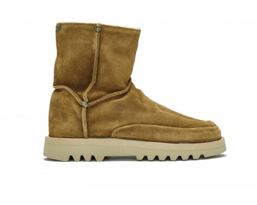 Nakasendo Suede-Wool Mid Brown